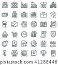 business, icon, set 41288446