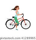 bike, bicycle, woman 41289965