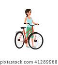 bike, bicycle, woman 41289968