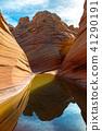 美國亞利桑那州 峽谷 曲線 41290191