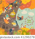 vector, tree, animal 41290278