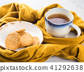 Winter comfort food concept with tea 41292638