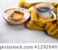 Winter comfort food concept with tea 41292640