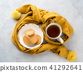 Winter comfort food concept with tea 41292641
