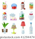 Glass jar vector jam or sweet jelly in mason glassware with lid or cover for canning and preserving 41294474