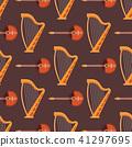 vector, instrument, seamless 41297695