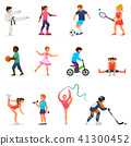 sport vector people 41300452