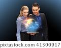 planet, globe, hologram 41300917