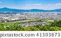 從嵐山觀看京都和東山的街道 41303673