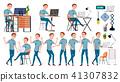 businessman, illustration, isolated 41307832