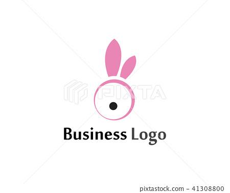 Rabbit Logo template vector icon design template 41308800