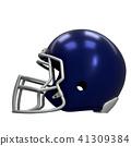American football helmet 41309384