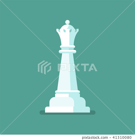 Queen Chess figure icon 41310080