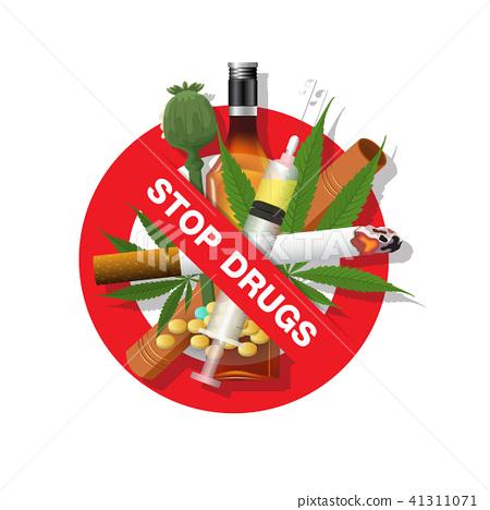 Stop drugs,  41311071