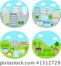 city town icon 41312729