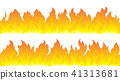 flames fire vector 41313681