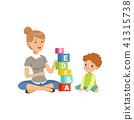 kid character vector 41315738