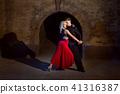 Dance of tango. 41316387