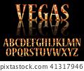 font letter vector 41317946