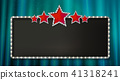 banner, cinema, sign 41318241