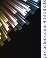 metallic overlap stripe rush in dark background 41318308