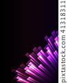 purple pink overlap stripe rush in dark background 41318311