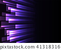 purple overlap stripe rush in dark background 41318316