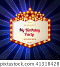 You are invited to a birthday party 41318428