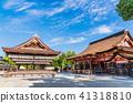 京都八坂神社正殿和舞蹈 41318810