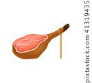 ham vector meat 41319435