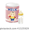 powdered milk, baby formula, baby bottle 41325929