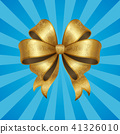 bow, gold, ribbon 41326010