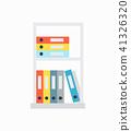 shelf, vector, file 41326320