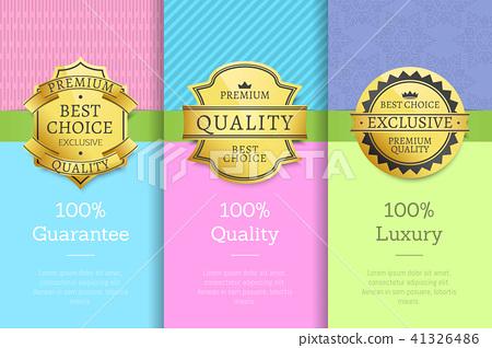 100 Guarantee Quality Luxury Exclusive Premium 41326486
