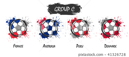 Set of national football team group C .  41326728