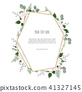 floral card vector 41327145