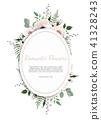 floral card vector 41328243