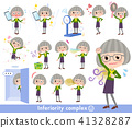 green shirt old women_complex 41328287