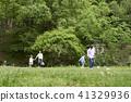 가족, 공원, 축구 41329936