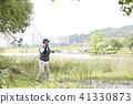 生活,釣魚,男人 41330873