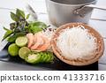 ingredients of vietamese pho noodle 41333716