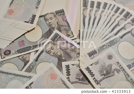 Lots of 10,000 yen notes 1 41333913