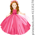 Princess girl dress 41335270