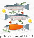ปลาแซลมอน,แซลมอน,สด 41336016