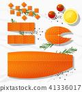 ปลาแซลมอน,แซลมอน,สด 41336017