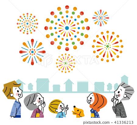 가족 축제 거리 41336213