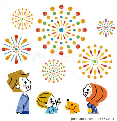Family Fireworks 41336214
