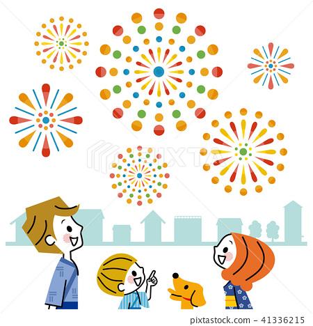 가족 축제 거리 41336215