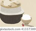 Background - Washi - Wagashi - Feather - White rice 41337389