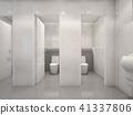 Modern public toilet , 3d rendering 41337806